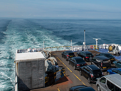 Priority boarding, be the first onboard with P&O Ferries