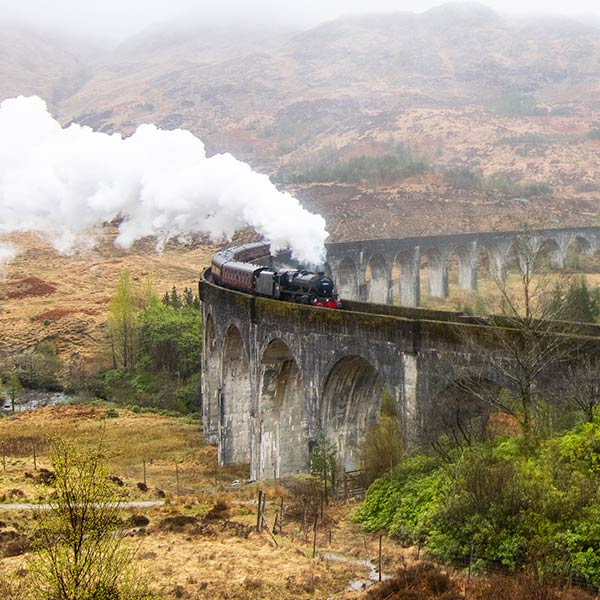 Have your own Hogwarts Experience with a Jacobite Steam Train
