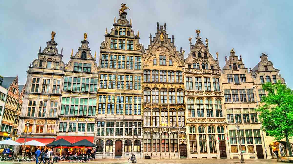 Grote Market Square Antwerp