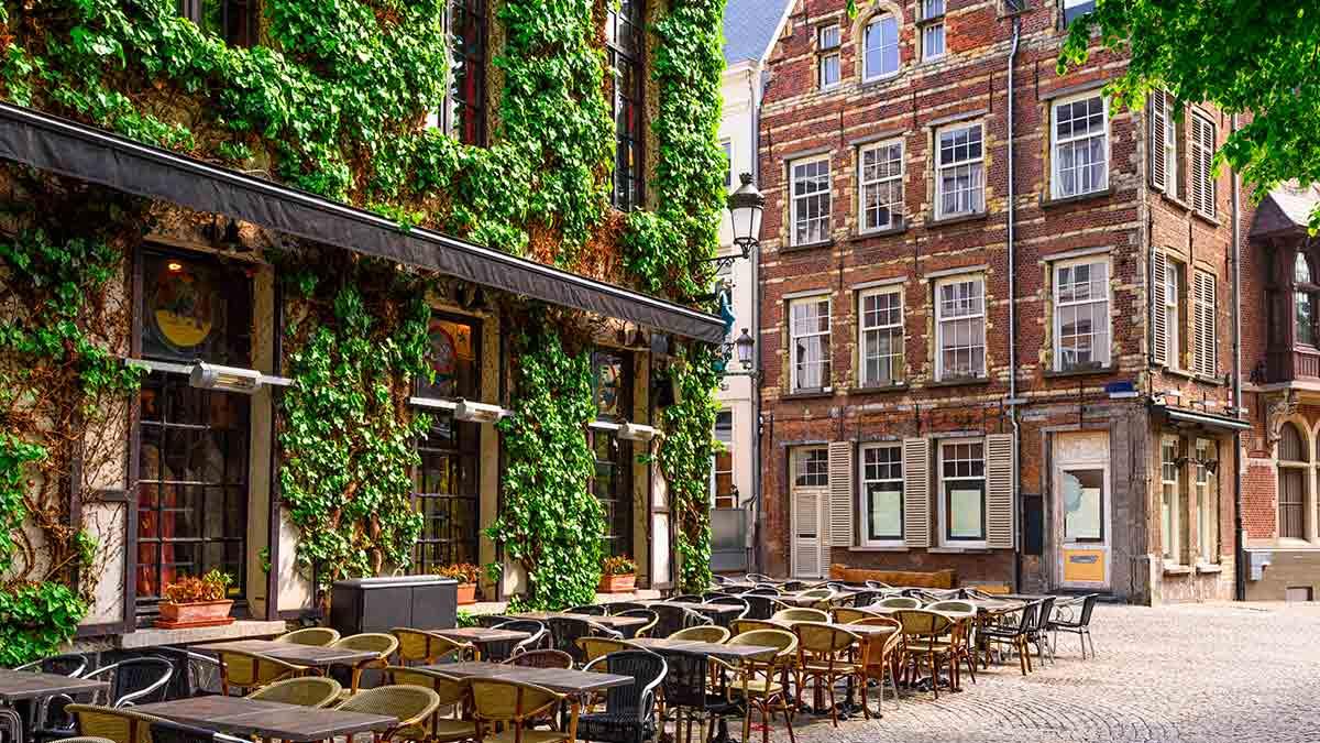 Historic City Centre in Antwerp