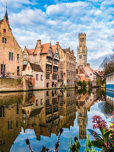 Bruges Canal in Belgium