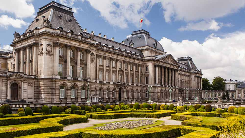 Royal Palace in Brussels, Belgium