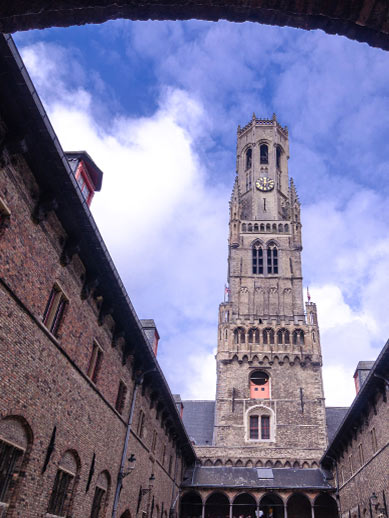 Belfry Tower in Bruges