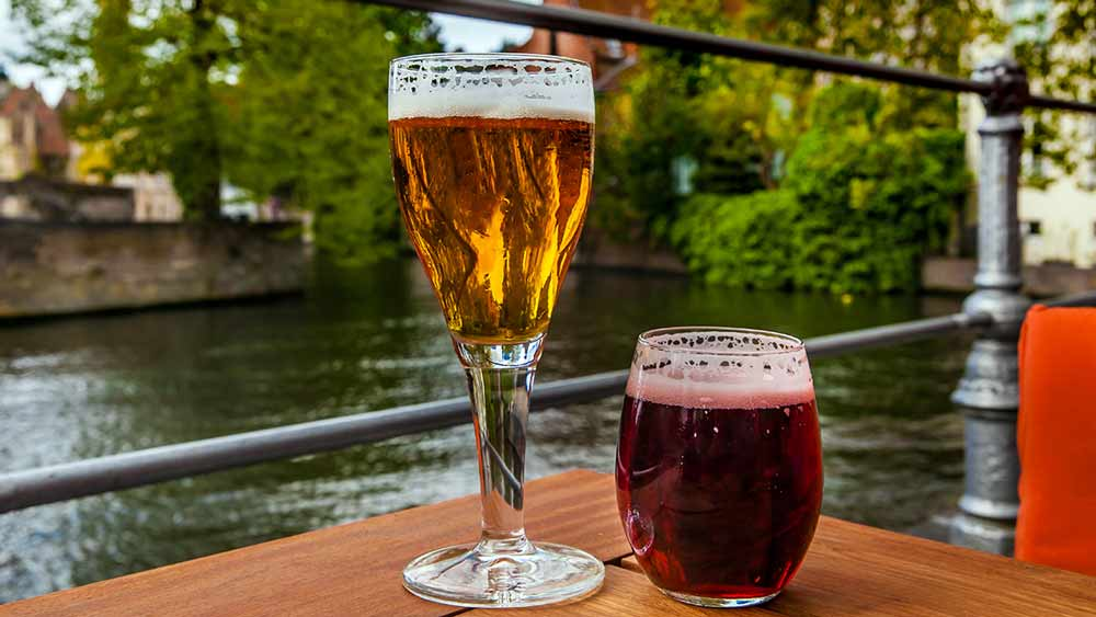 Enjoy a Belgian Beer when you visit Bruges