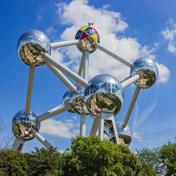 Atomium exhibition Brussels