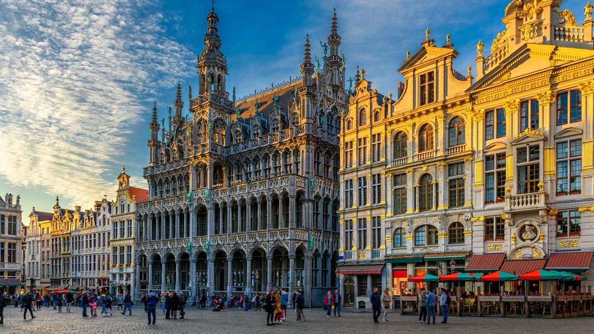 Grand Place Maison du Roi Brussels