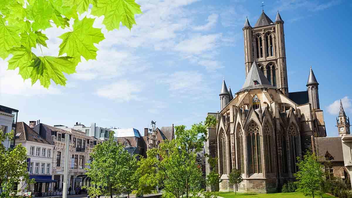 St Nicholas Church in Ghent