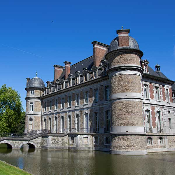 Chateau de Beloeil in Flanders, Belgium