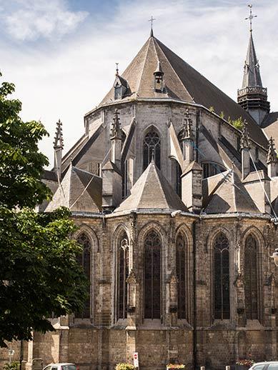 Saint Waudra Church in Mons Belgium