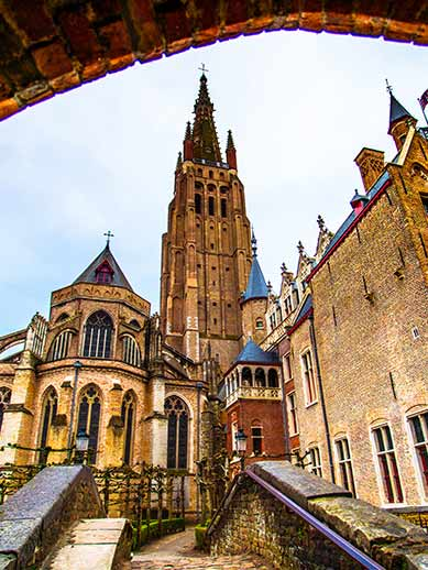 The Church of Our Lady, Bruges