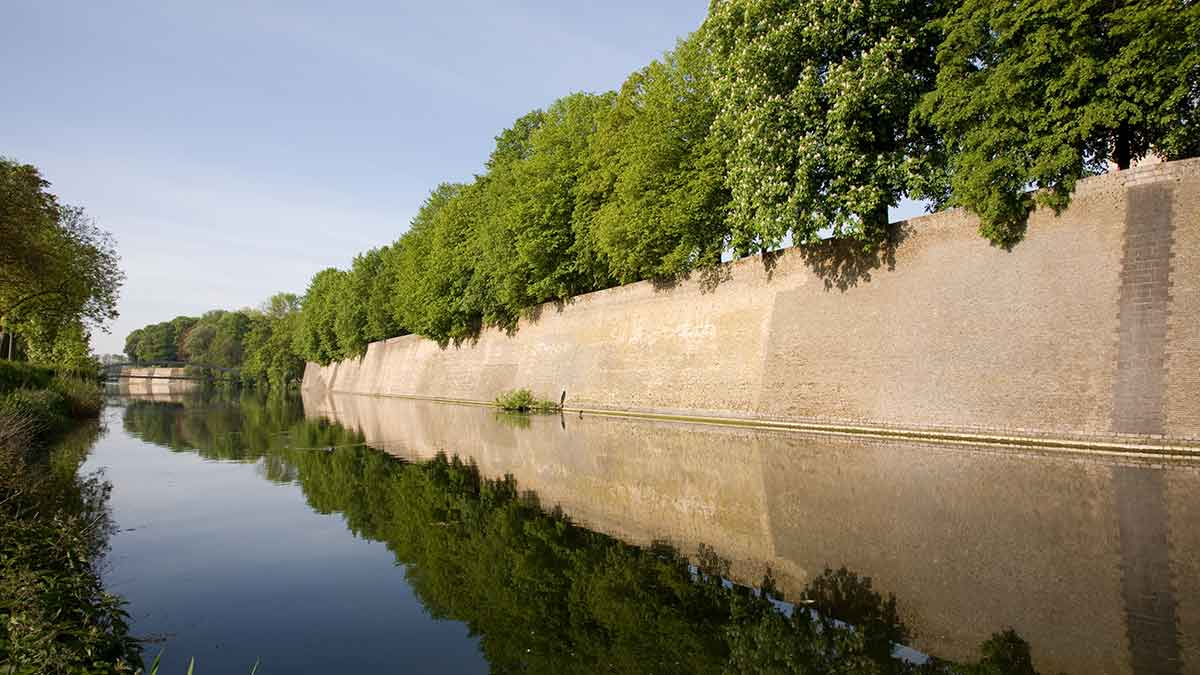 Vauban Ramparts in Ypres, Belgium