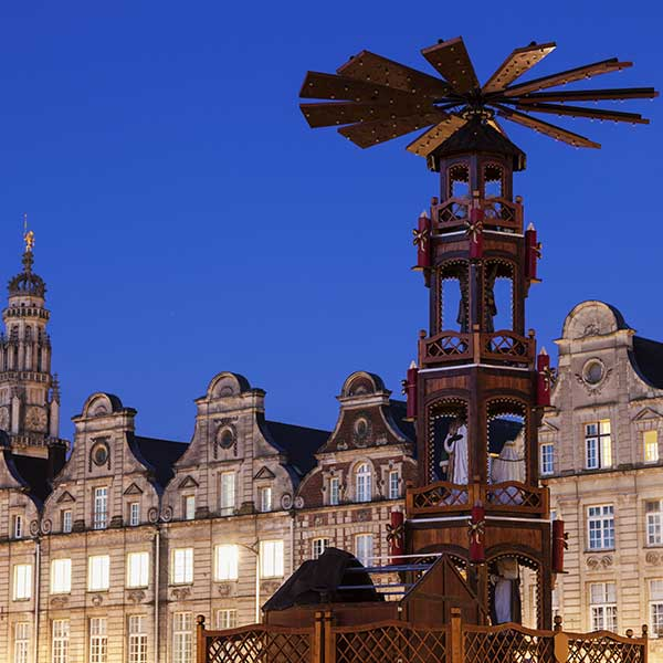 Christmas Grand Place in Arras