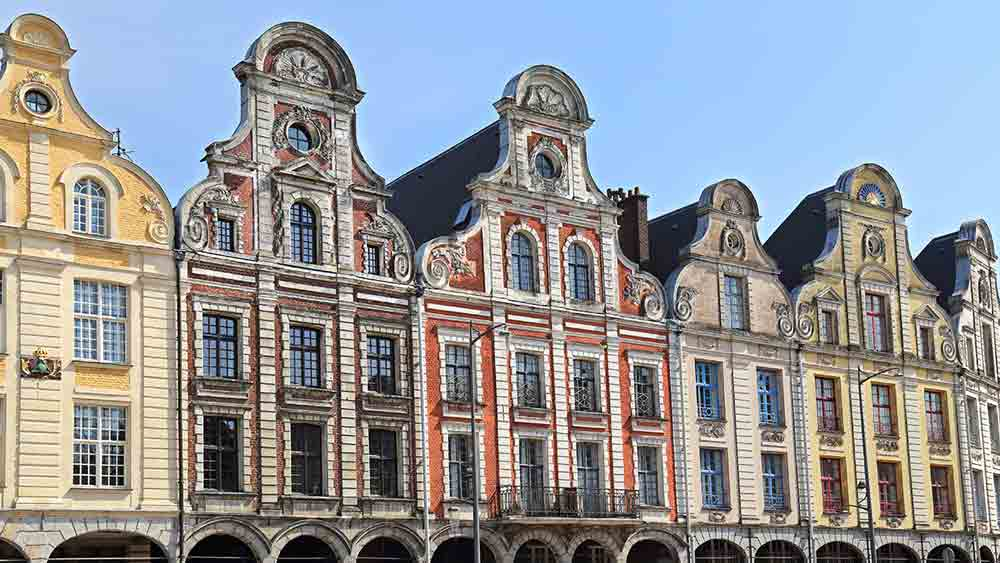 Historic Gables in Arras, France