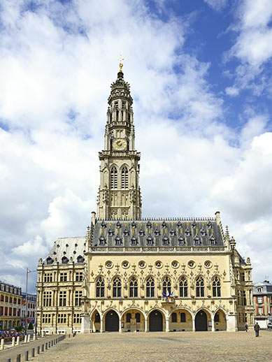 Town Hall in Arras, France