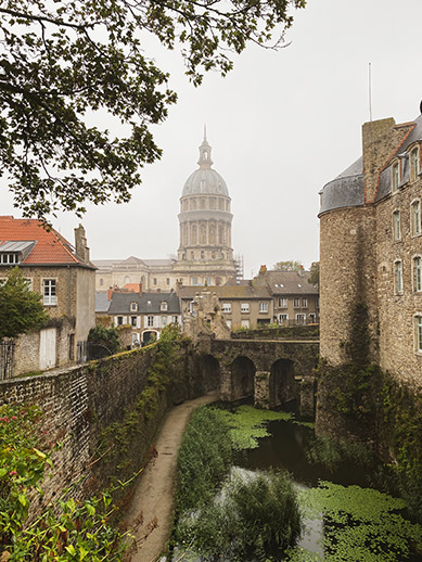 Old town in Boulogne
