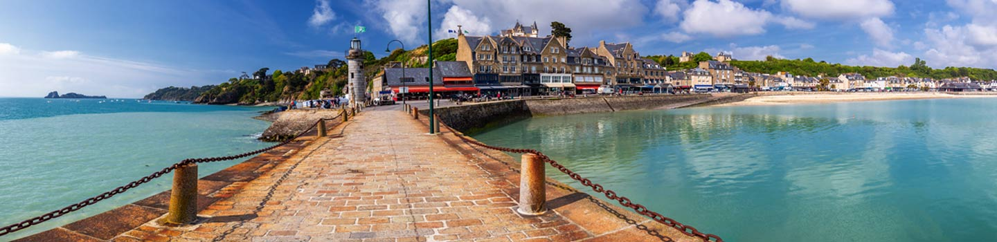 Cancale in Brittany, France