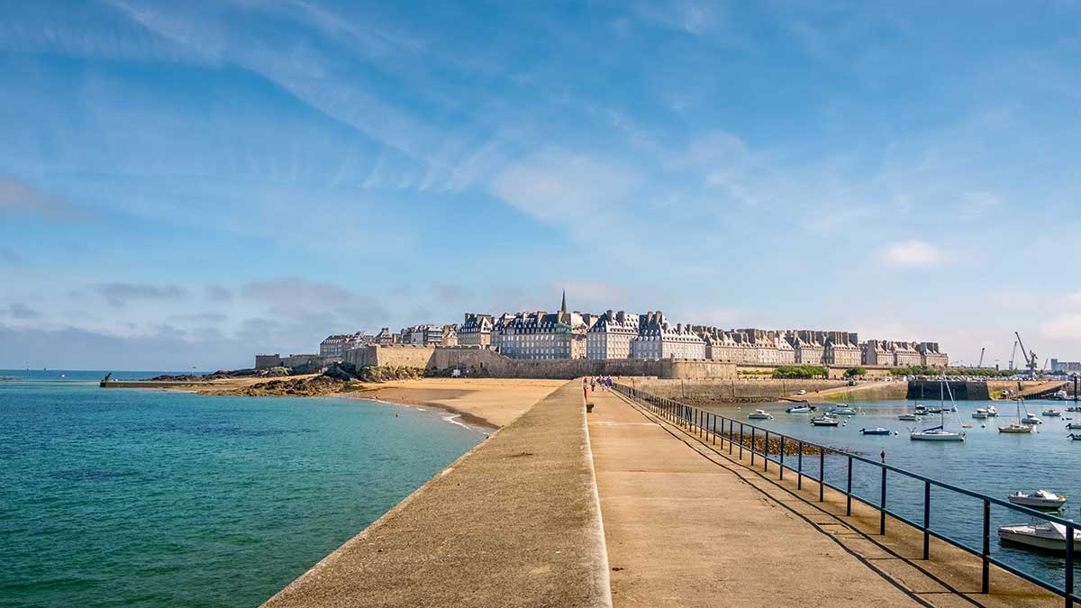 Saint Malo in Brittany, France