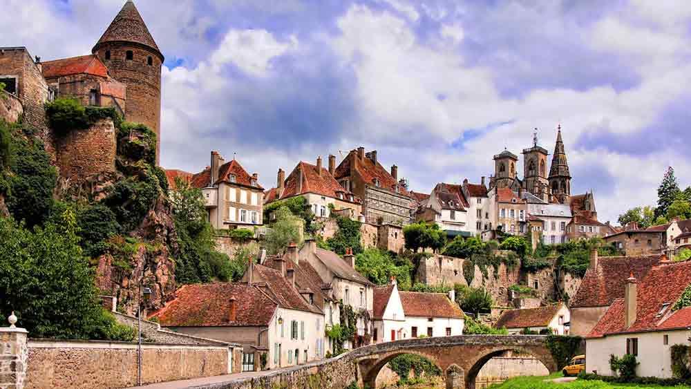 Semur en Auxois, Burgundy