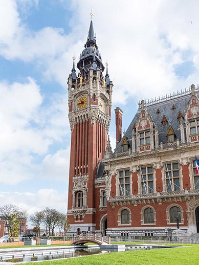 City Hall in Calais