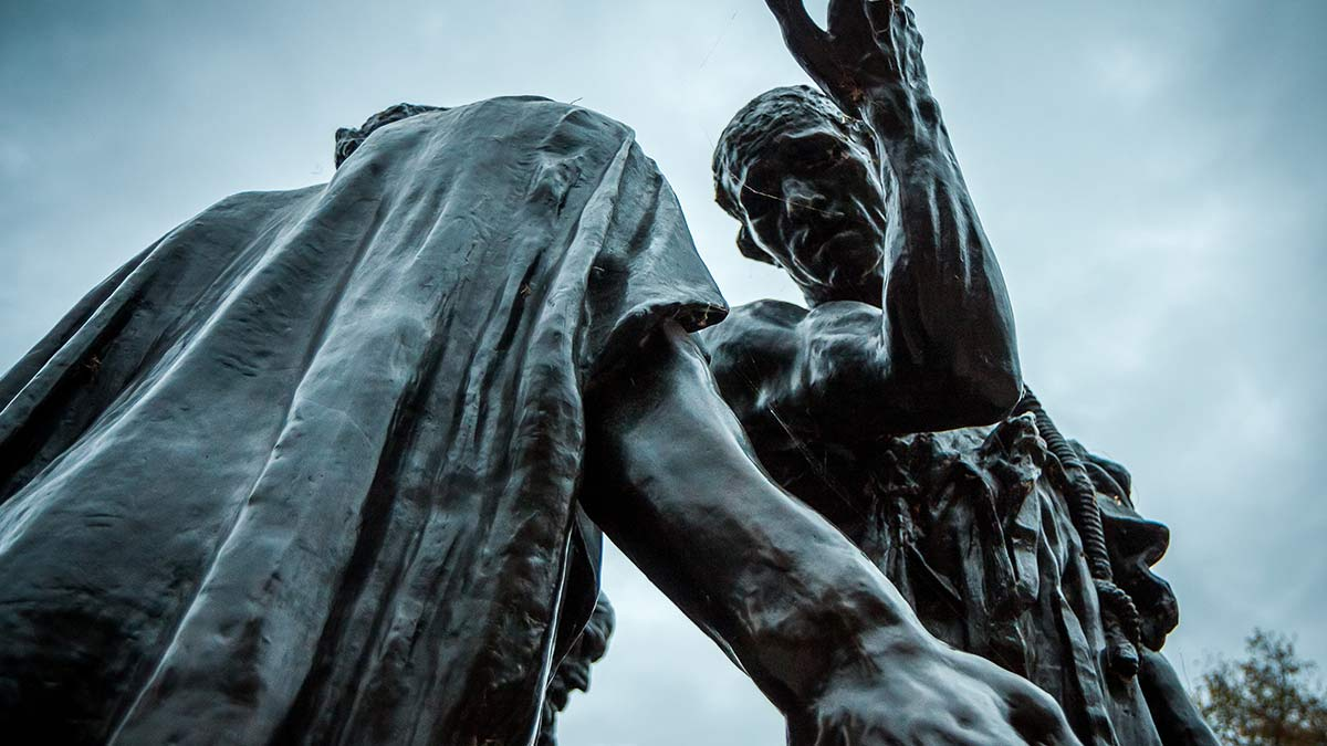 Statue in Calais