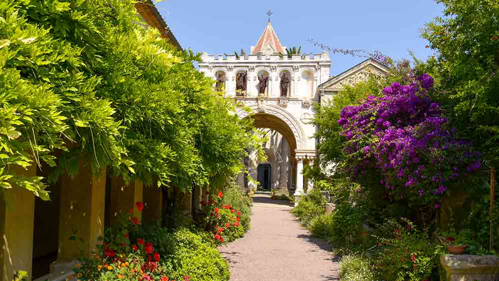 Sainte Honorat Island Monastery in Cannes