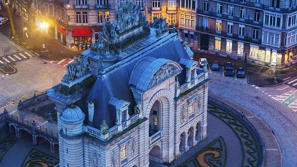 Porta de Paris in Lille, France