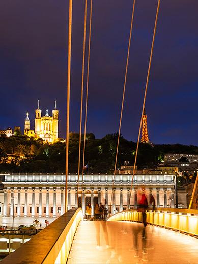 Lyon nightscape