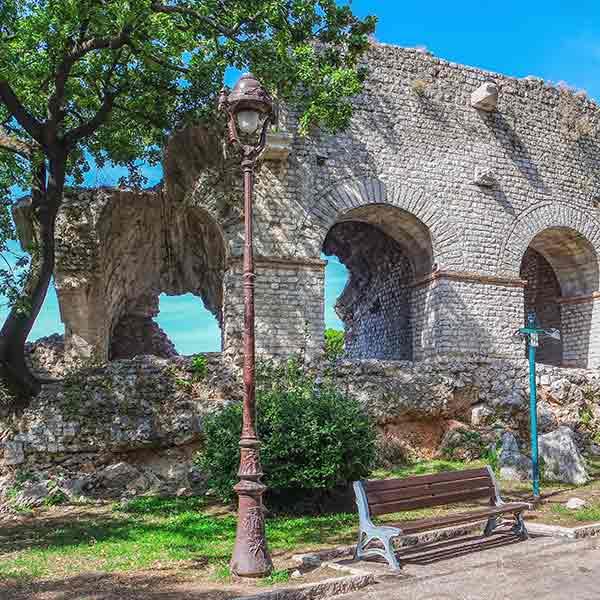 Roman Achaeological Museum in Nice