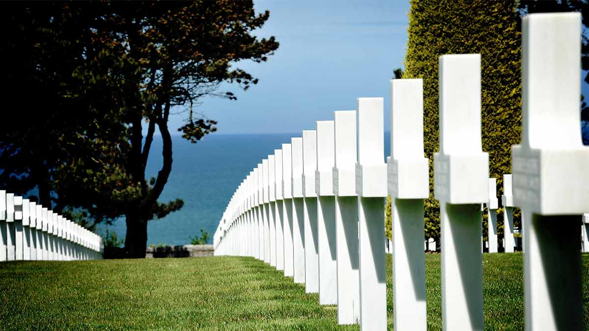 D-Day Normandy in France