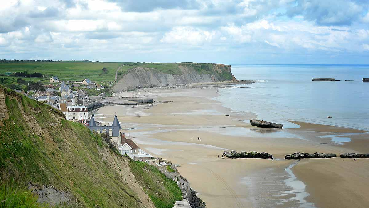 how to get to normandy