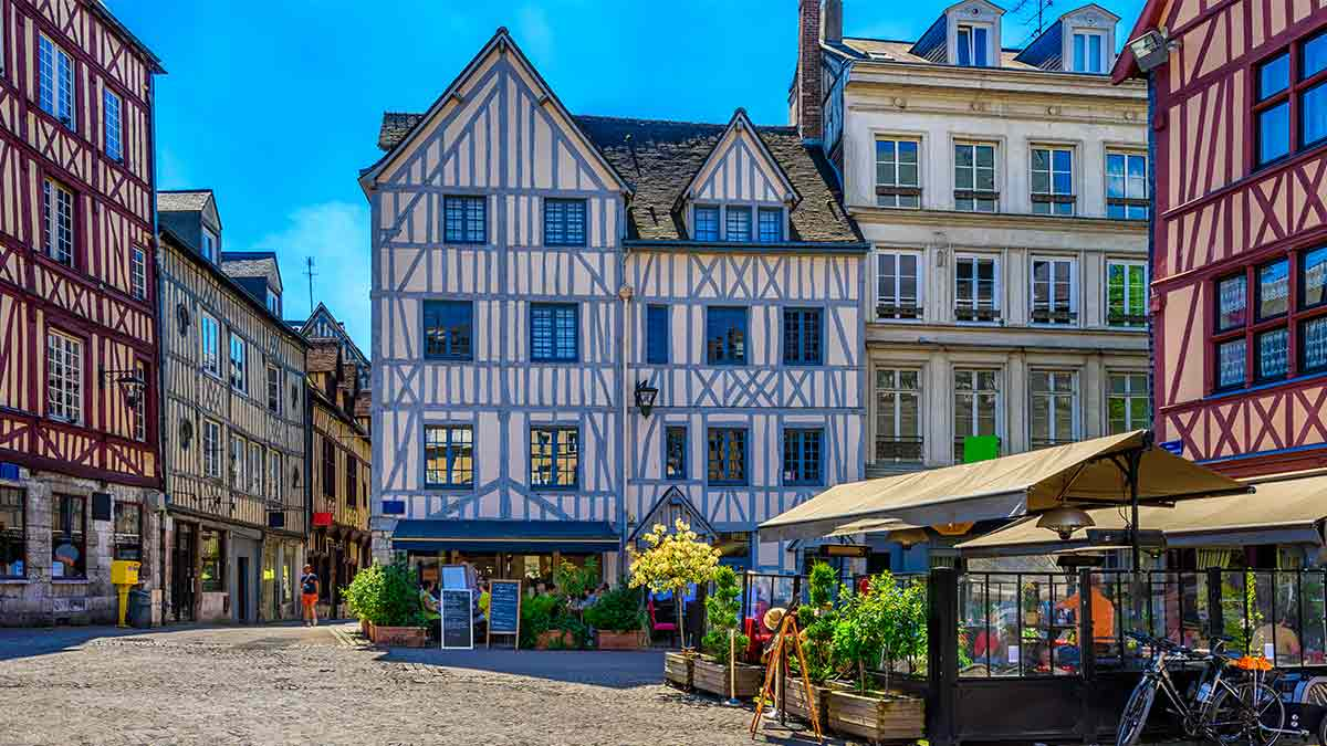 Rouen in Normandy, France