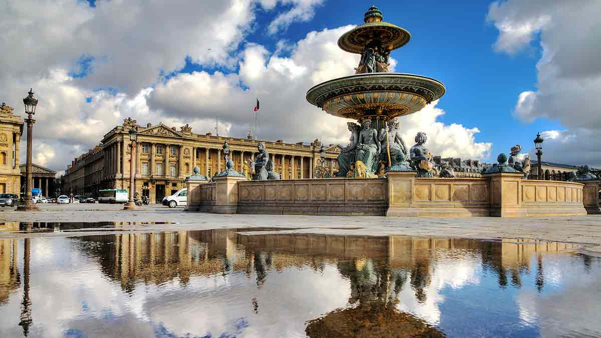 Place de la Concorde Fountain Paris
