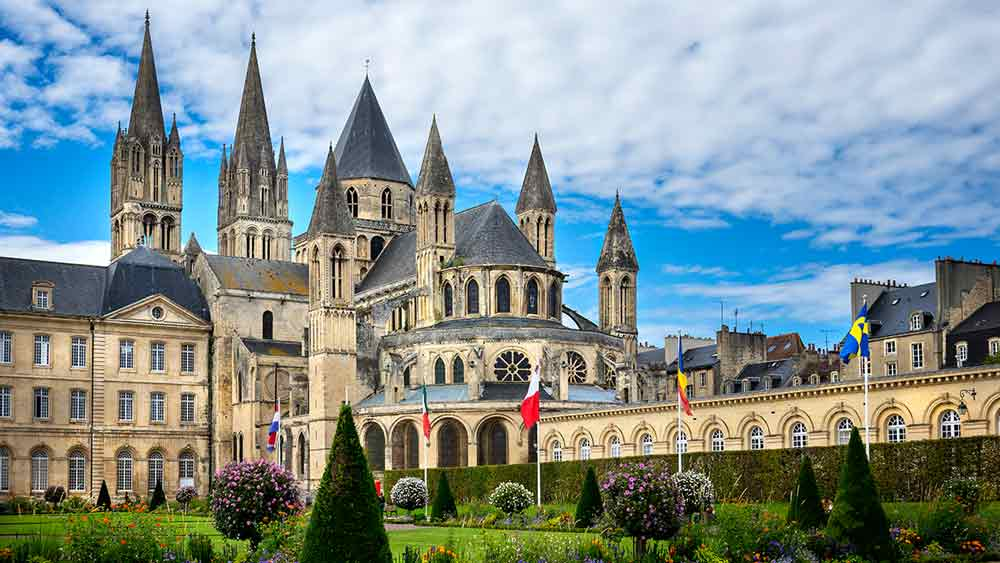 Abbaye Aux Hommes in Reims