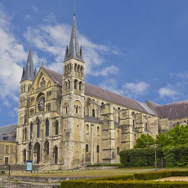 Saint Remi Basilica in Reims