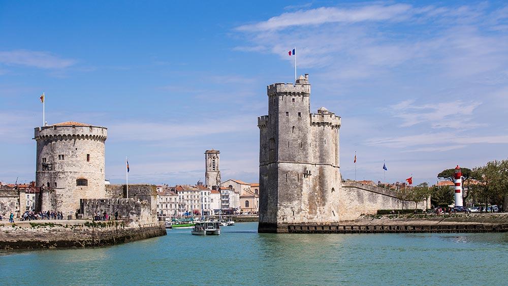La Rochelle in France