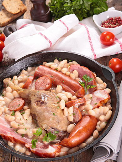 Traditional Toulouse Dish Cassoulet