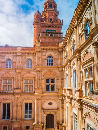 Renaissance Palace in Toulouse