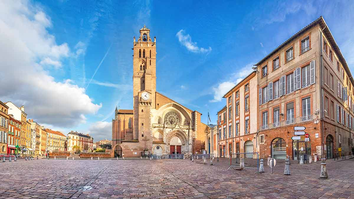 St Stephens Cathedral in Toulouse