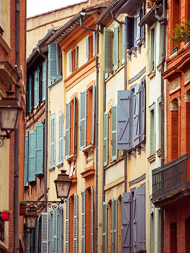 Street view Toulouse France