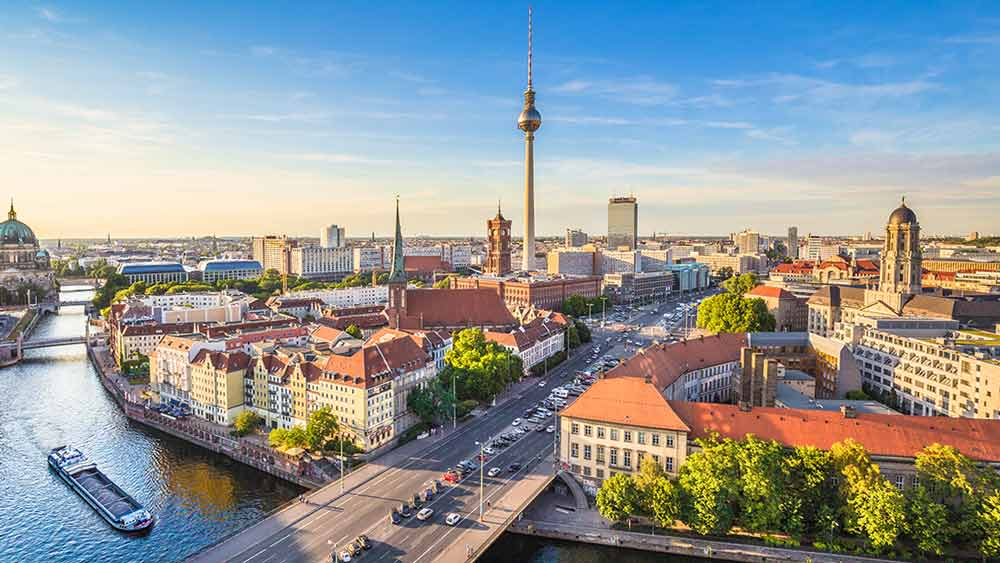 Berlin Skyline in Germany