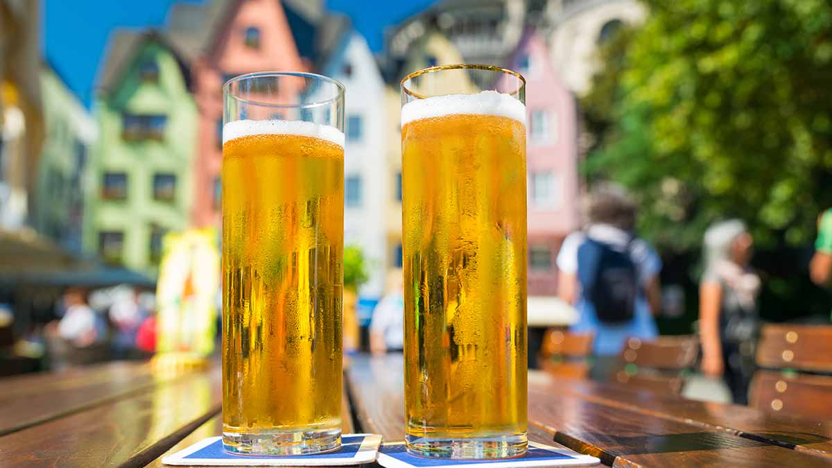 Beer from Cologne