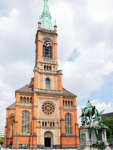 Church in Dusseldorf, Germany