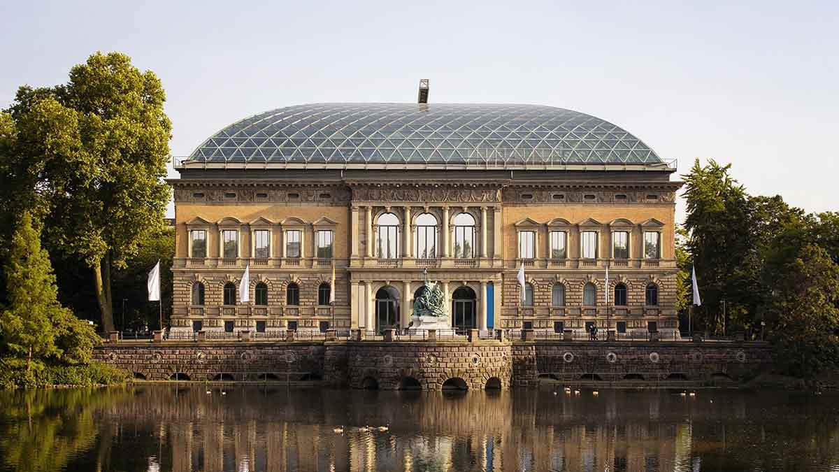 Modern Art Museum in Dusseldorf
