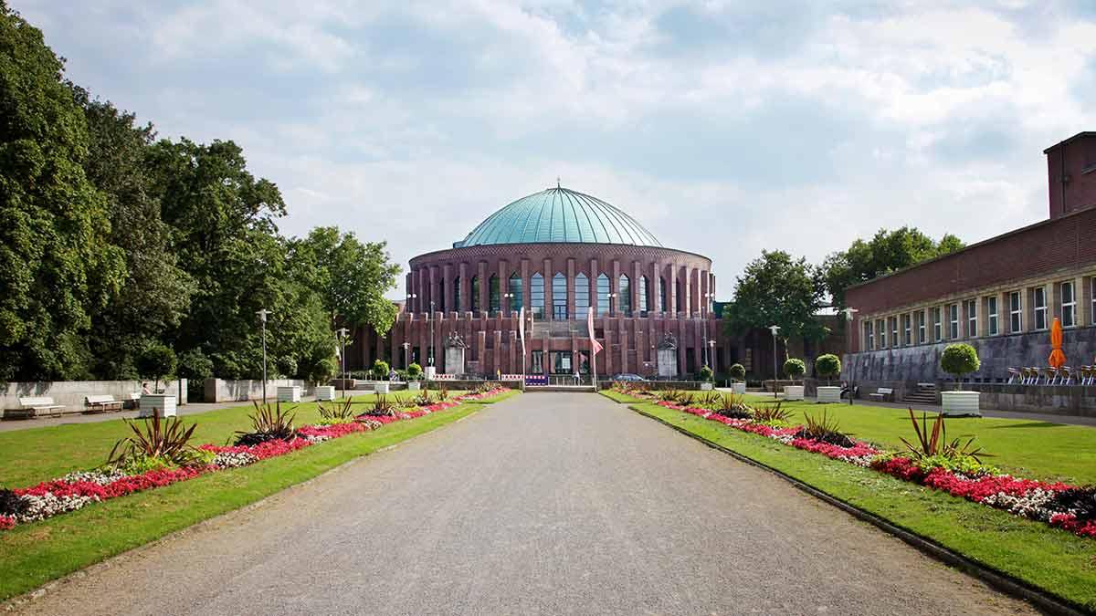 Tonhalle in Dusseldorf, Germany