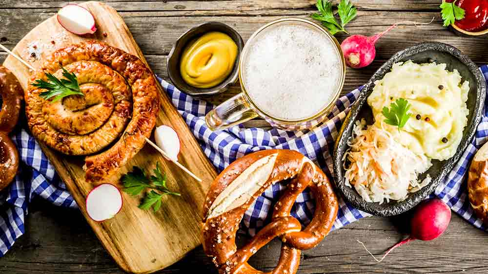 Bavarian Cuisine in Germany