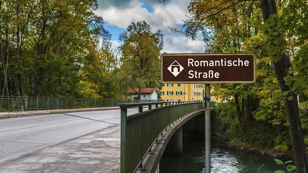 Romantic Road in Germany
