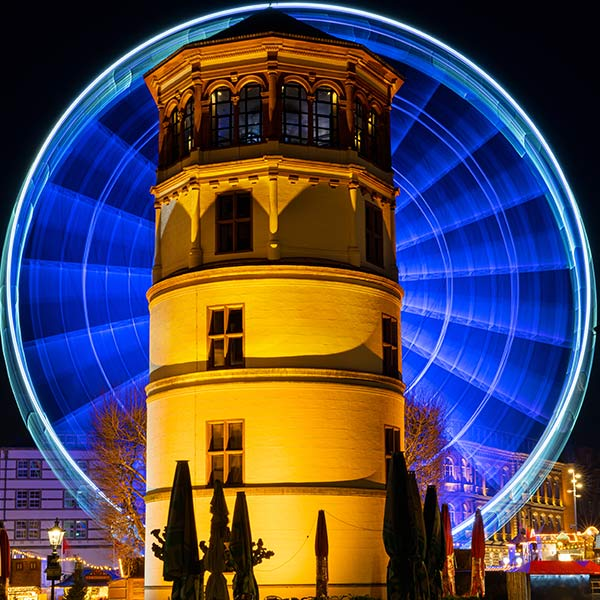 Dusseldorf night tour
