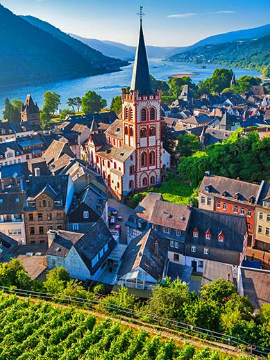 Rhine Valley in Germany