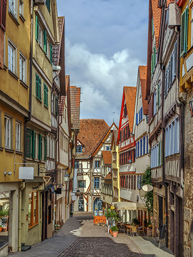 Tubingen in Germany