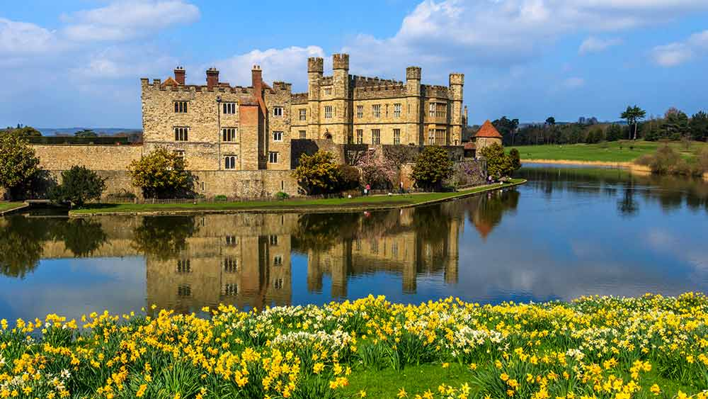 Attractions in Kent - Leeds Castle